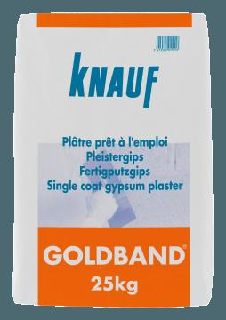 Plâtre à enduire Goldband