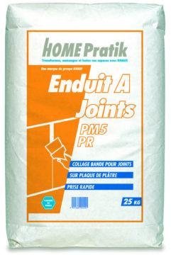 PM 5 PR Enduit à joint prise rapide - mortiers, colles, enduits, bandes - Home Pratik