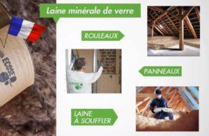 Panneau en laine de verre Ecose
