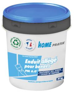 PM 6.0 - Enduit à joint prêt à l'emploi allégé sur Home Pratik : transformez, aménagez et isolez vos espaces avec des produits de qualité Knauf.