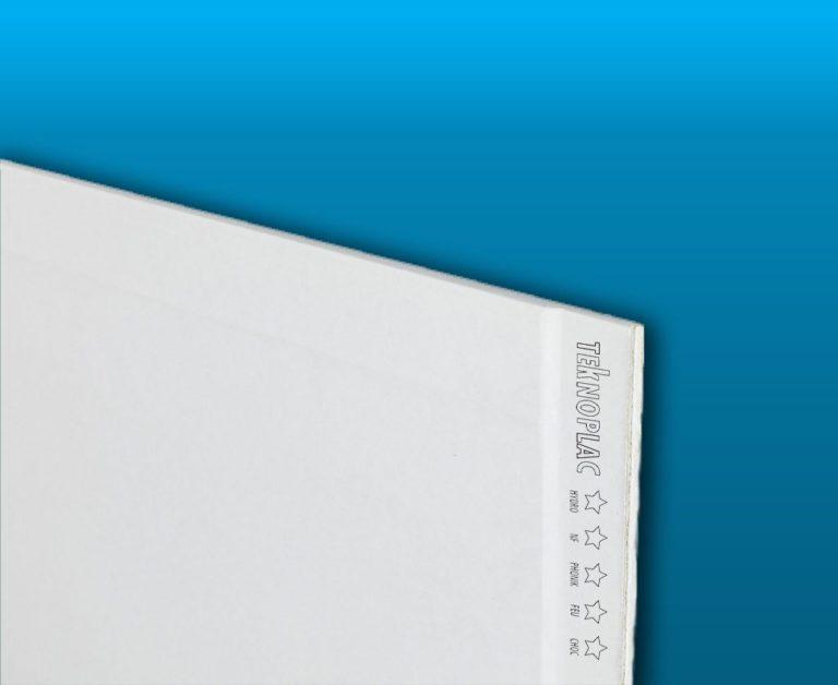 Plaque de plâtre Teknoplac NF 5 en 1 Largeur 1200 - Plaques de plâtre - Home Pratik
