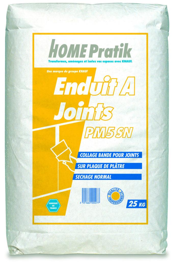 PM 5 ENDUIT À JOINT - Mortiers, colles, enduits, bandes - Home Pratik